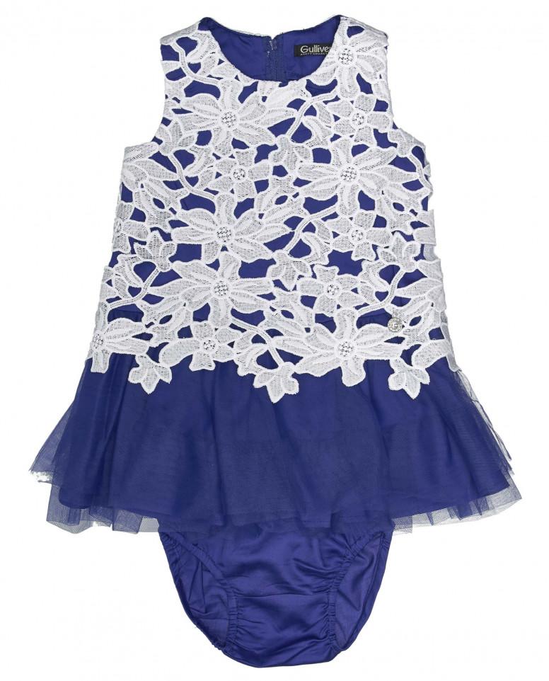 Комплект из платья и шортиков