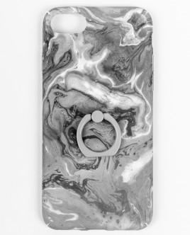 Серый чехол для IPhone 6/6S/7/8 с декором Gulliver OUTLET
