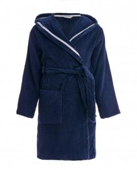 Blue terrycloth bathrobe Gulliver