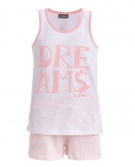 Пижама с шортами для девочки OUTLET