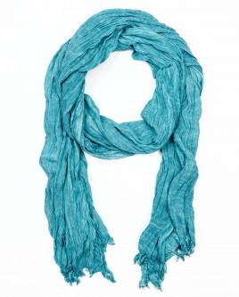 Голубой летний шарф OUTLET