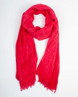 Красный летний шарф OUTLET
