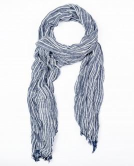 Полосатый летний шарф Gulliver OUTLET