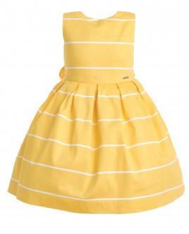 Yellow striped dress Gulliver