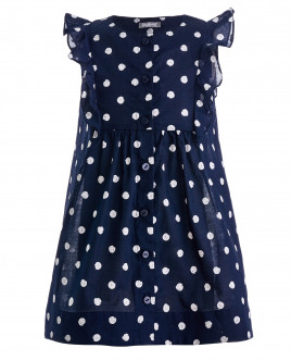 Blue dotted dress Gulliver