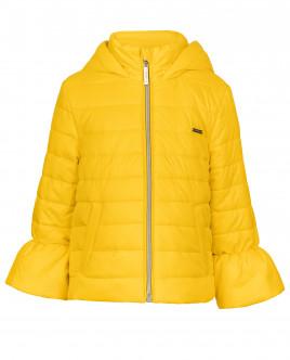 Желтая демисезонная куртка OUTLET