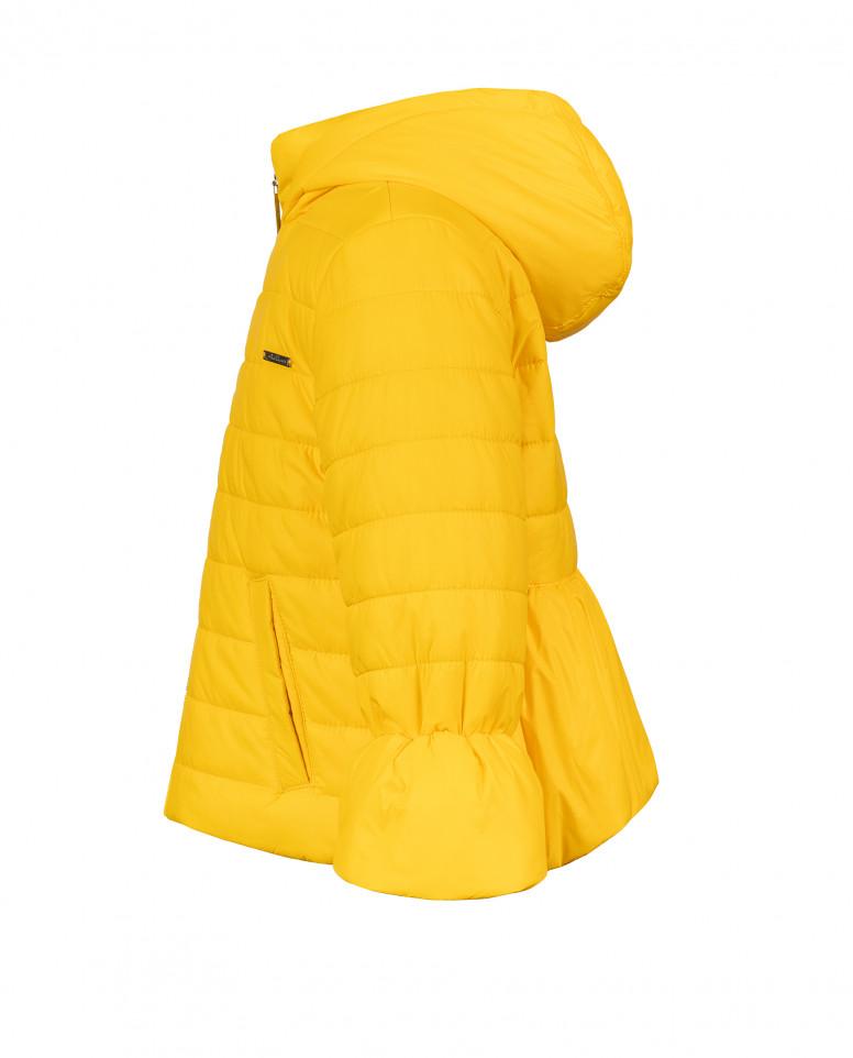 Желтая демисезонная куртка