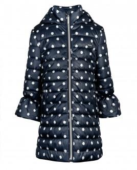 Blue dotted coat Gulliver
