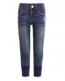 Голубые узкие джинсы OUTLET