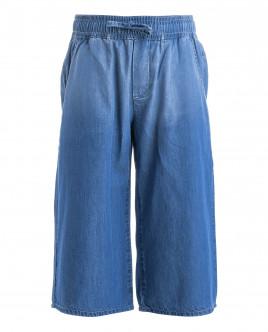 Голубые джинсы-кюлоты OUTLET