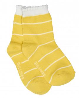 Yellow socks Gulliver