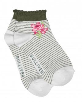 Striped white socks Gulliver