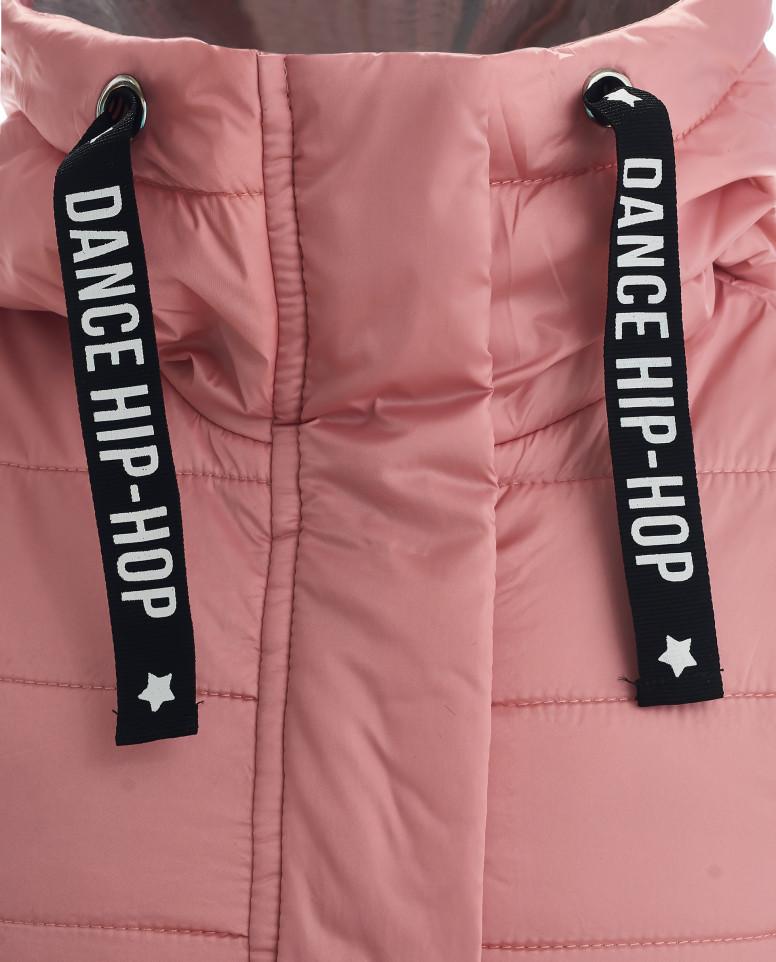 Розовый жилет на синтепоне