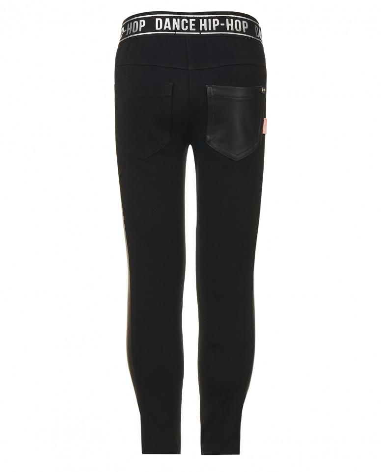 Черные брюки из джерси