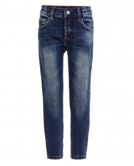 Синие прямые джинсы OUTLET