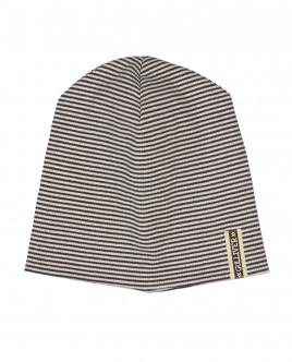 Полосатая трикотажная шапка