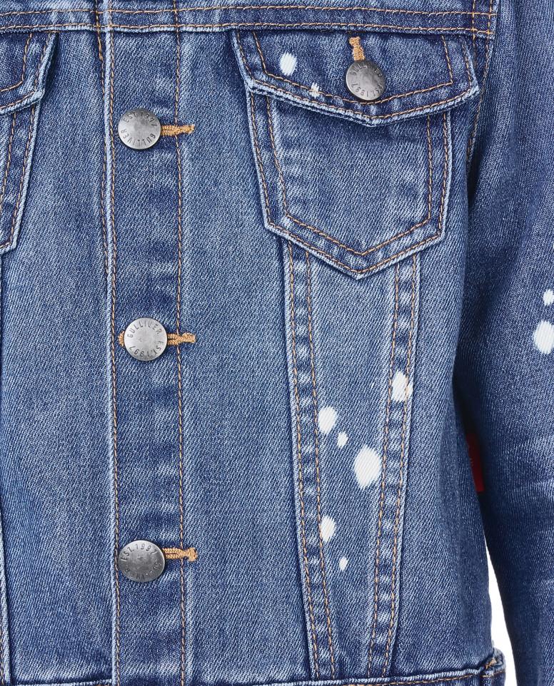 Голубая джинсовая ветровка Gulliver