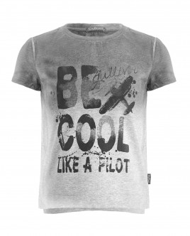Gray t-shirt with vintage effect Gulliver