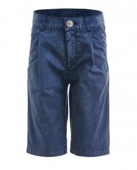 Синие шорты с винтажным эффектом OUTLET
