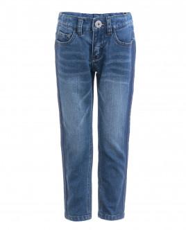 Синие узкие джинсы OUTLET