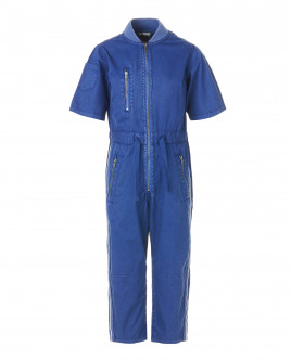 Blue printed overall Gulliver