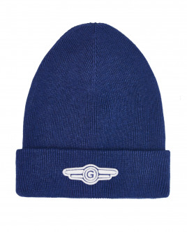 Blue knitted hat Gulliver