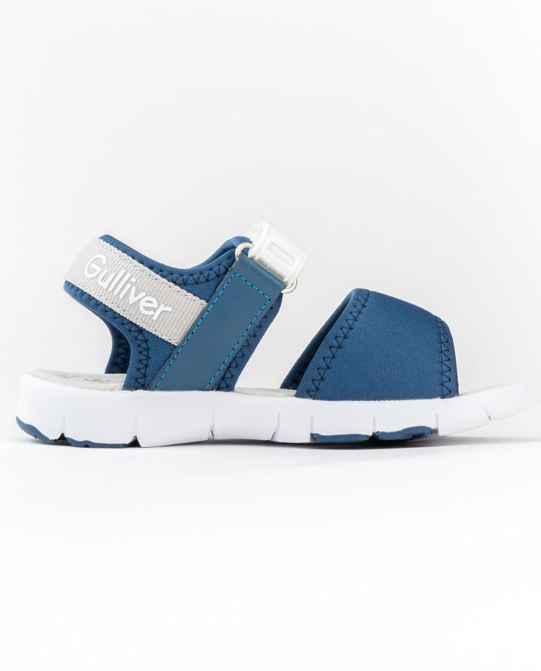 Синие сандалии