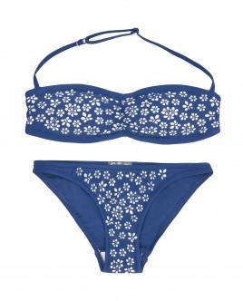Синий раздельный купальник OUTLET