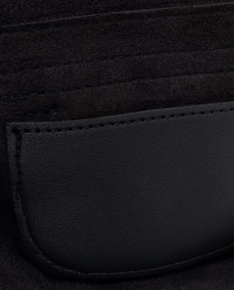 Черная поясная сумка