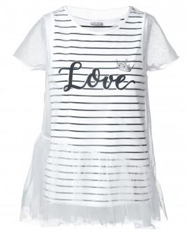 Комплект из майки и футболки из сетки OUTLET