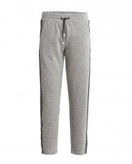 Серые брюки с люрексом OUTLET