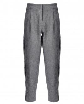Серые брюки с лампасами OUTLET