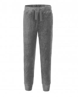 Серые велюровые брюки Gulliver