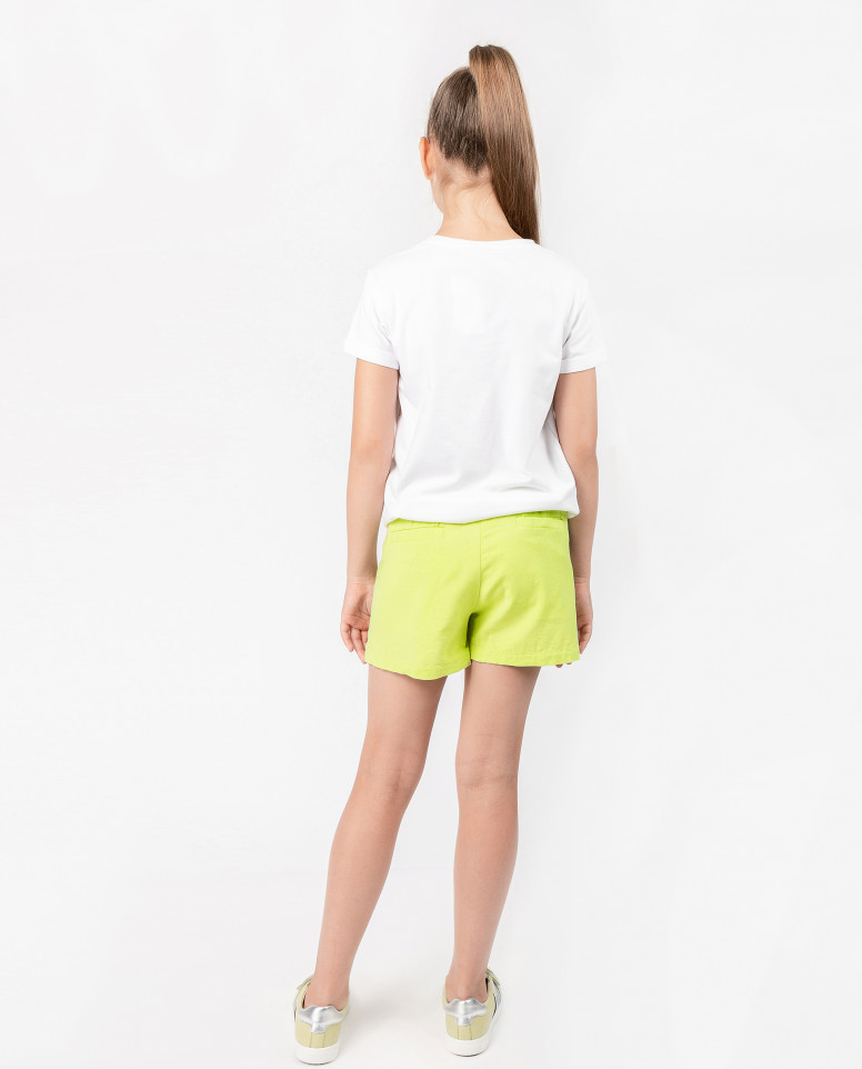 Лаймовые шорты