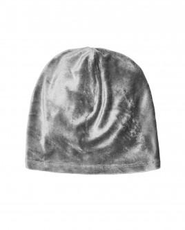 Серая велюровая шапка Gulliver