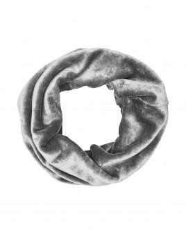 Серый велюровый воротник OUTLET