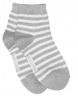 Серые носки с люрексом Gulliver