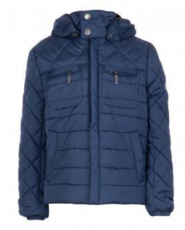 Синяя стеганая куртка OUTLET
