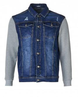 Голубая джинсовая куртка Gulliver OUTLET