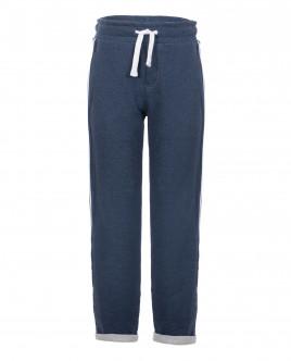 Синие трикотажные брюки OUTLET