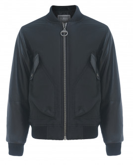 Черная демисезонная куртка Gulliver OUTLET
