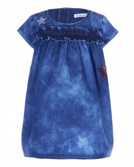 Джинсовое платье с декором OUTLET
