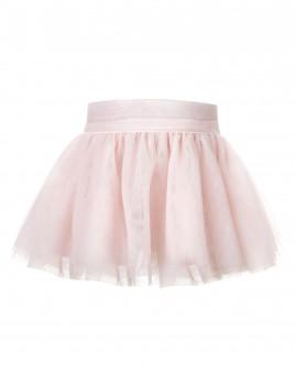 Розовая юбка из сетки OUTLET