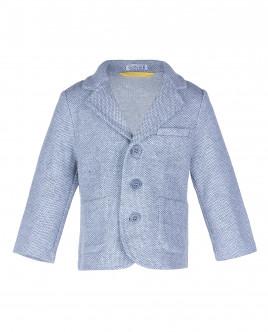 Серый пиджак из джерси OUTLET