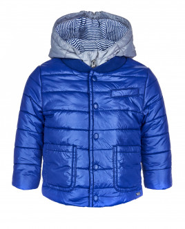 Синяя демисезонная куртка OUTLET