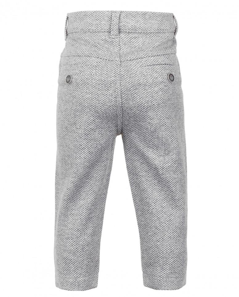 Серые брюки из джерси