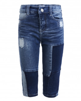 Синие джинсы на подкладке OUTLET