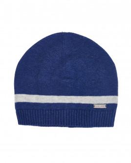 Синяя вязаная шапка Gulliver OUTLET