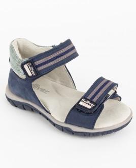 Синие сандалии на липучке Gulliver OUTLET