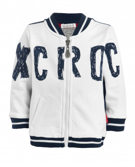 Blue and white printed jacket Gulliver